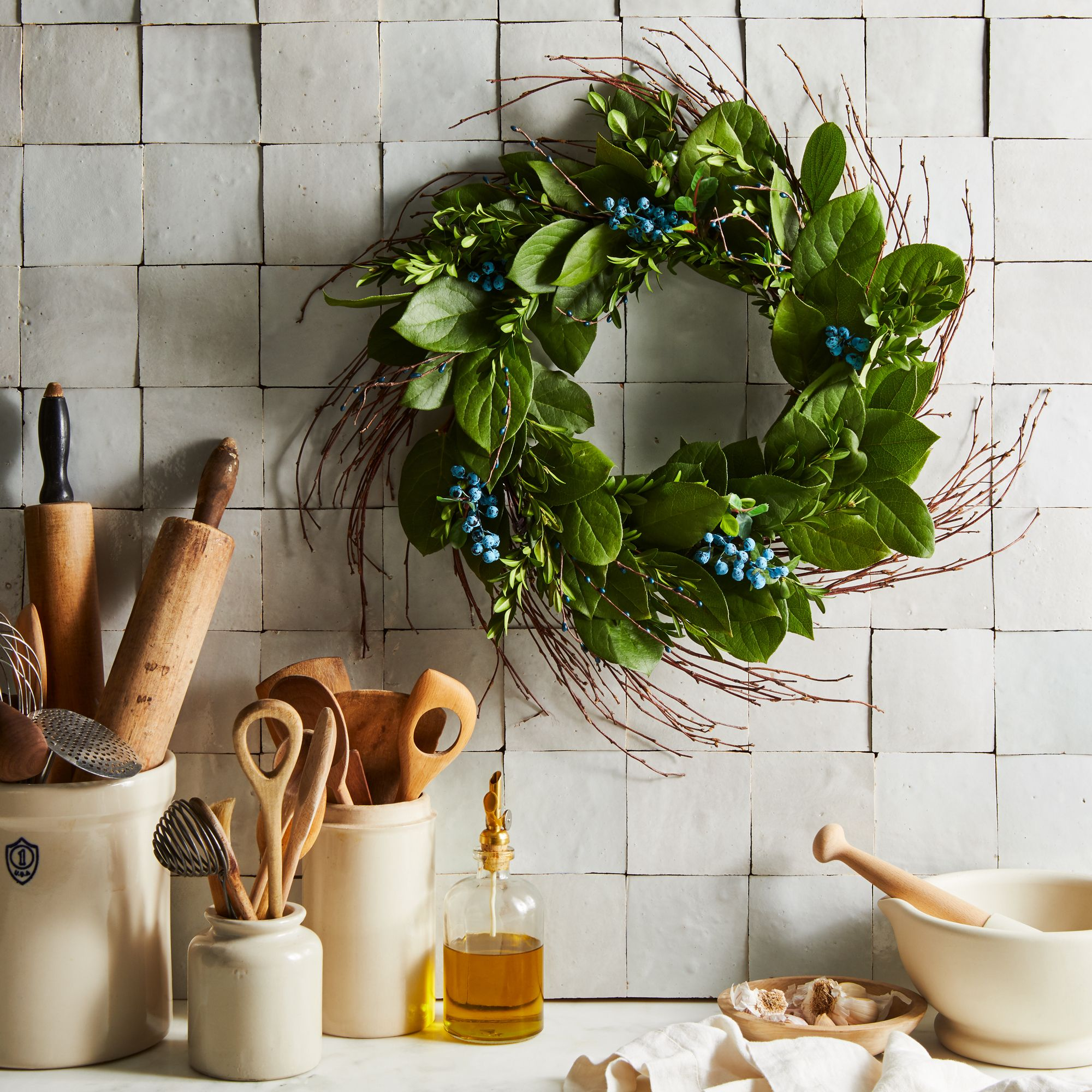 How To Make A Wreath Step By Step Easy Diy Christmas