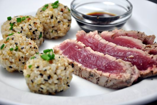 Brown Rice Sushi Balls