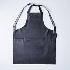 Dutch Leather Suspender Apron