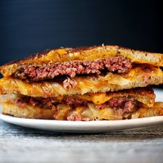 Oozy, Cheesy, Glorious Patty Melts Don't Need a Recipe