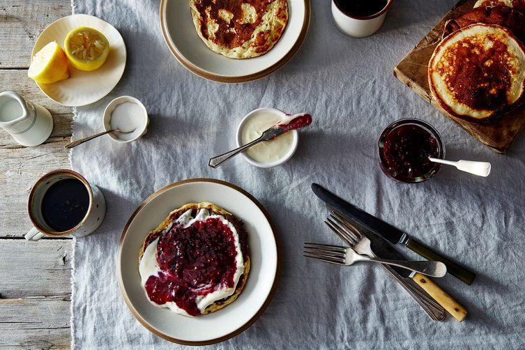 Sveler (Norwegian Pancakes)