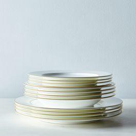 Bone China Gold Band Dinnerware