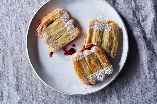 Dorie Greenspan's Pailles (Puff Pastry Sandwiches)
