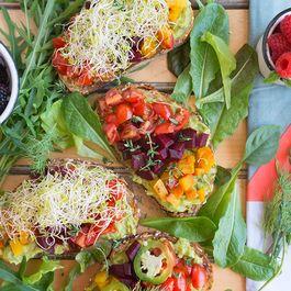 D10b838e 3c04 46de b195 07d5e2f989fb  beet avocado open faced sandwich