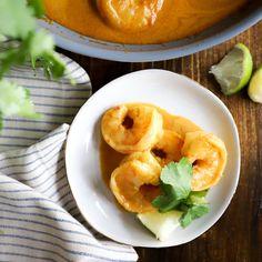 Easy Shrimp in Curry Cream Sauce