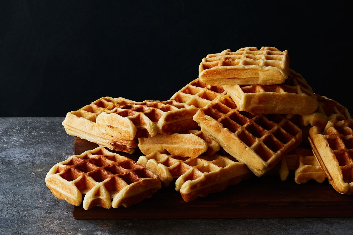 How To Make The Best Waffles Yeasted Waffle Recipe