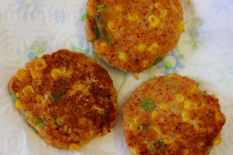 Corned Beef Corny Fritters