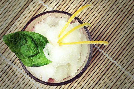 Mint & Meyer Lemon Granita