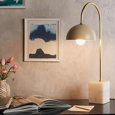 Anthropologie Table Lamp