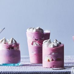 Blueberry-Blackberry Frozen Trifles