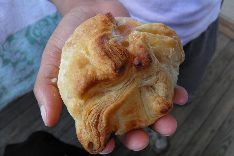 Peach Pie Dumpling