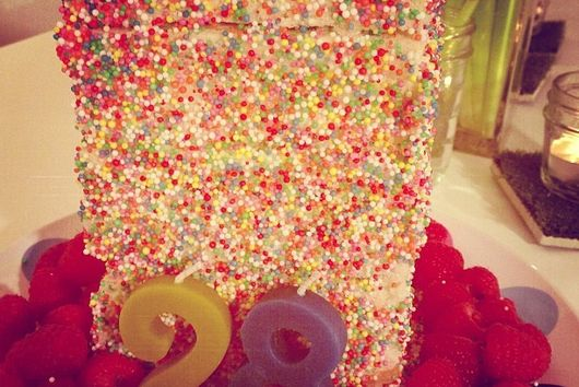 Fairy Bread Cake