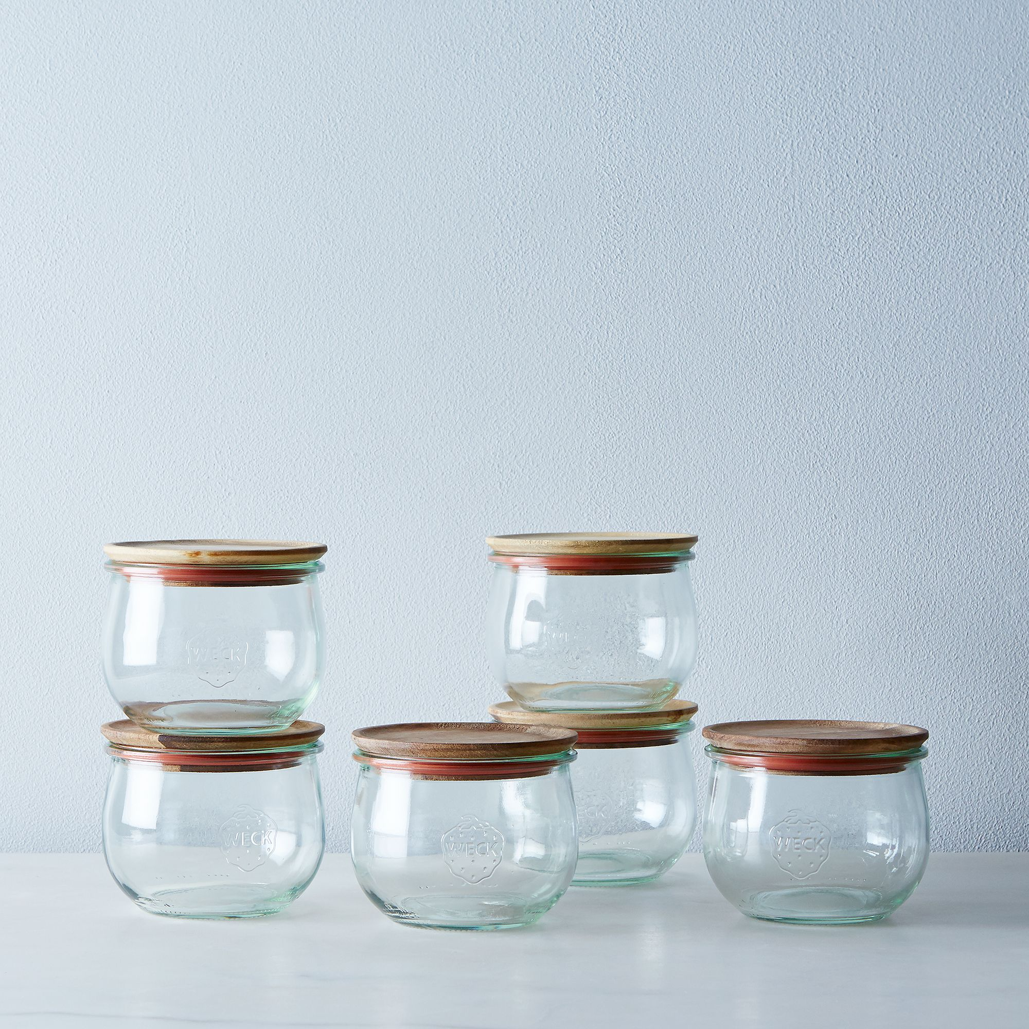 kitchen storage organization kitchen food52 shop weck tulip jars set of 6