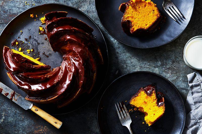 Danielle Noce's Brazilian Carrot Cake (Bolo de Cenoura)