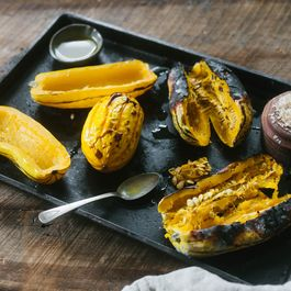 Coal Roasted Winter Squash