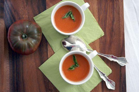 CREAMLESS CREAM OF TOMATO SOUP