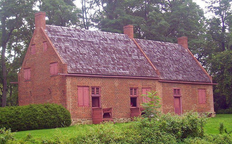 The Van Alen House in Kinderhook, NY.