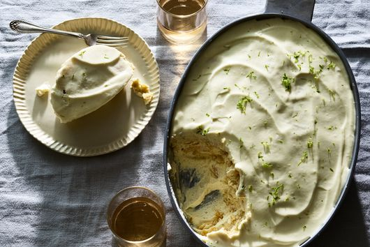 Labor Day, We Give You 10-Minute Lime Cracker Pie