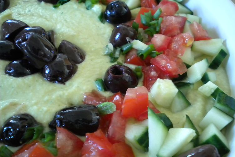 Chick Pea and Mint Dip