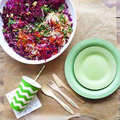 Shredded Rainbow Salad