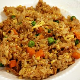 skinny chicken fried rice by Lady G