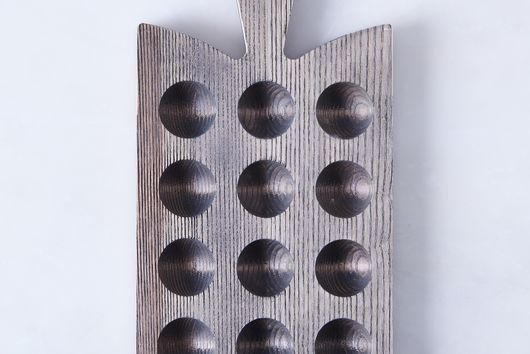 Ash Wood Egg Board