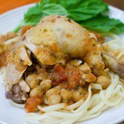 Tomato Chickpea Chicken