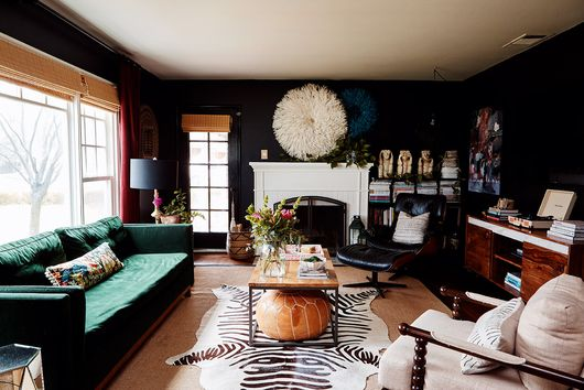 This Family's Downsized Home Goes Big on Style