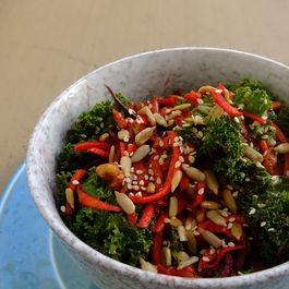 Crunchy Carrot Beet kale Salad