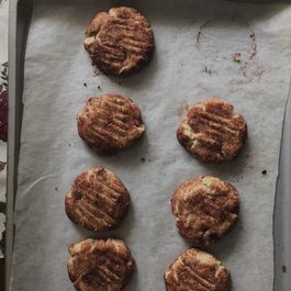 Chocolate and Cinnamon Cookies with orange