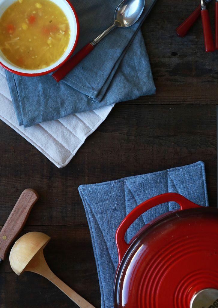 Linen Potholders