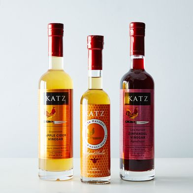 Late Harvest Viognier Honey, Zinfandel & Gravenstein Apple Cider Vinegars (3 Bottles)