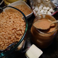 Coconut Crispy Treat
