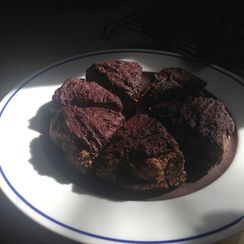 Almond Chocolate Spice (low carb) scones