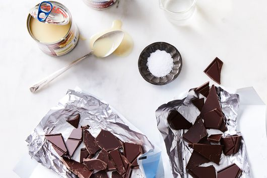 Shiny, Gooey Hot Fudge With 2 Ingredients