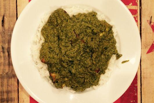 Sarson Ka Saag: Saag Paneer with Broccoli Rabe and Spinach