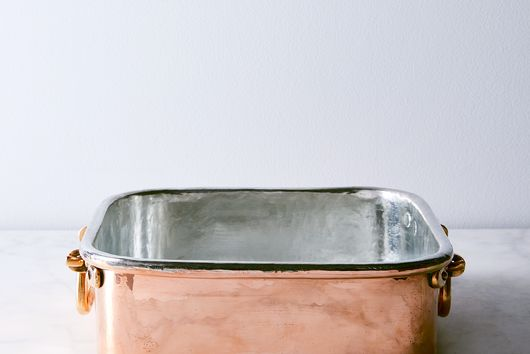 Vintage copper English Braising and Roasting Pan, Mid19th Century