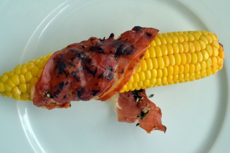 Corn on the Cob Saltimbocca