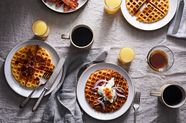 A Savory, Cheesy Waffle That'll Turn You Into a Weekend Brunch Star