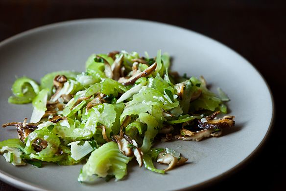 Italian Celery and Mushroom Salad on Food52