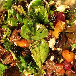 Peach and Blackberry Panzanella Salad