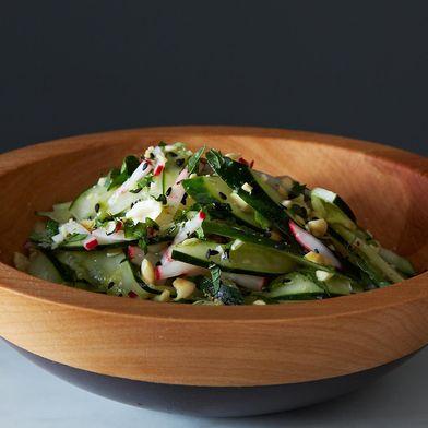 Sesame Peanut Cucumber Salad