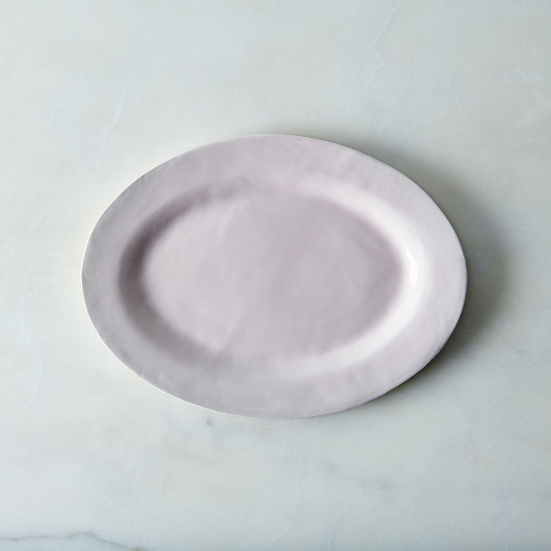 Food52 Glossy Pink Porcelain Serveware By Looks Like