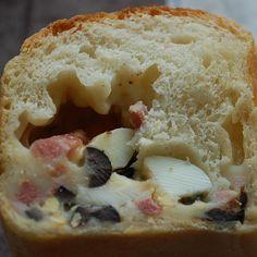 Casatiello Napoletano - Stuffed Italian Bread
