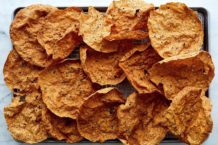 Papad (Deep-Fried Lentil Wafers)