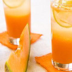 Minty Melon Agua Fresca
