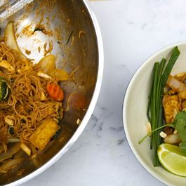 The best gluten-free vegan pad Thai