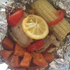 Chicken Pocket Dinner