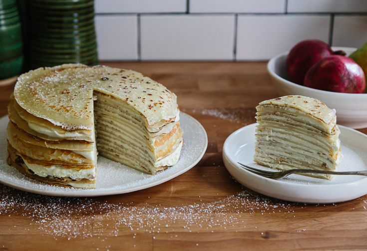 How to Make a Crêpe Cake