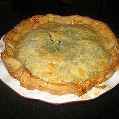 Sue's Spinach Pie